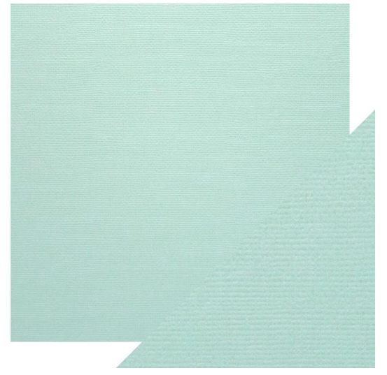 Craft Perfect 12 x 12 Texture Weave Card 5pk Arctic Blue