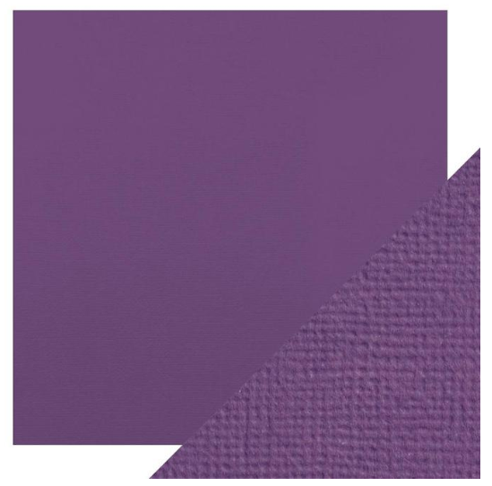 Craft Perfect 12 x 12 Texture Weave Card 5pk Amethyst Purple