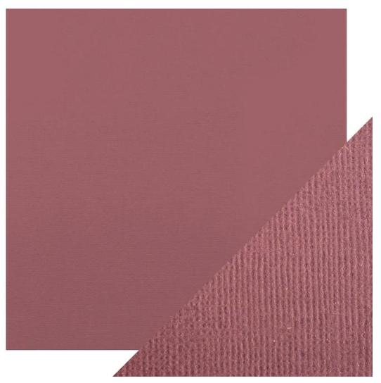 Craft Perfect 12 x 12 Texture Weave Card 5pk Aubergine Purple