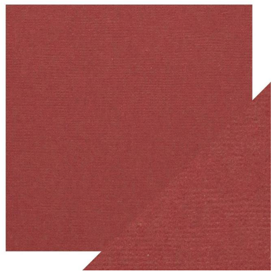 Craft Perfect 12 x 12 Texture Weave Card 5pk Boysenberry Purple