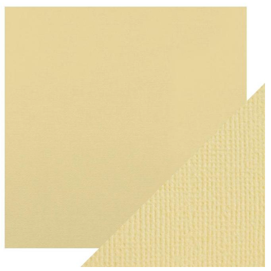 Craft Perfect 12 x 12 Texture Weave Card 5pk Champagne