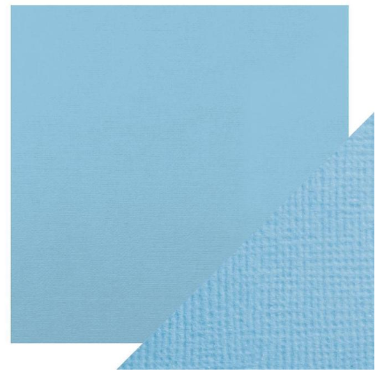 Craft Perfect 12 x 12 Texture Weave Card 5pk Cornflower Blue