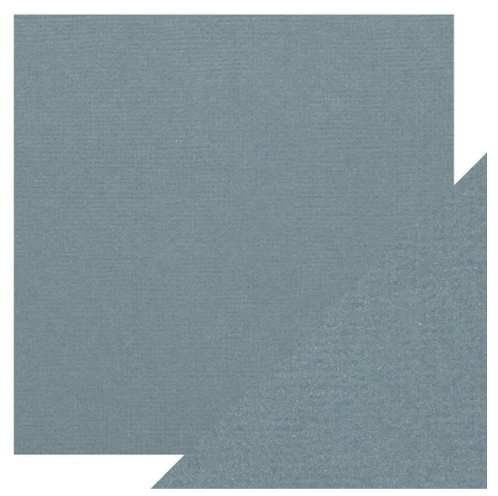 Craft Perfect 12 x 12 Texture Weave Card 5pk Denim Blue