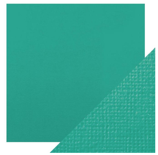 Craft Perfect 12 x 12 Texture Weave Card 5pk Ocean Blue