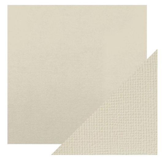 Craft Perfect 12 x 12 Texture Weave Card 5pk Oyster Grey