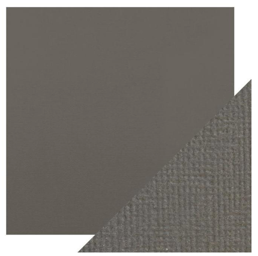 Craft Perfect 12 x 12 Texture Weave Card 5pk Pewter Grey