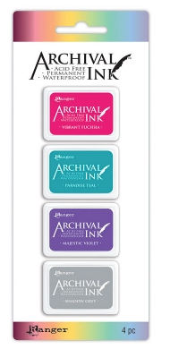 Ranger Archival Mini Ink Set 4 (4)