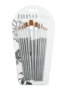 Tonic Paint Brushes - set of 12