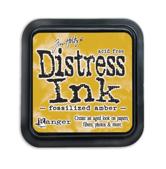 Tim Holtz Distress Ink Pad - Fossilised Amber