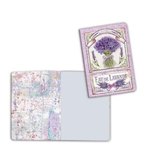 A6 Notebook - Lavender Bouquet