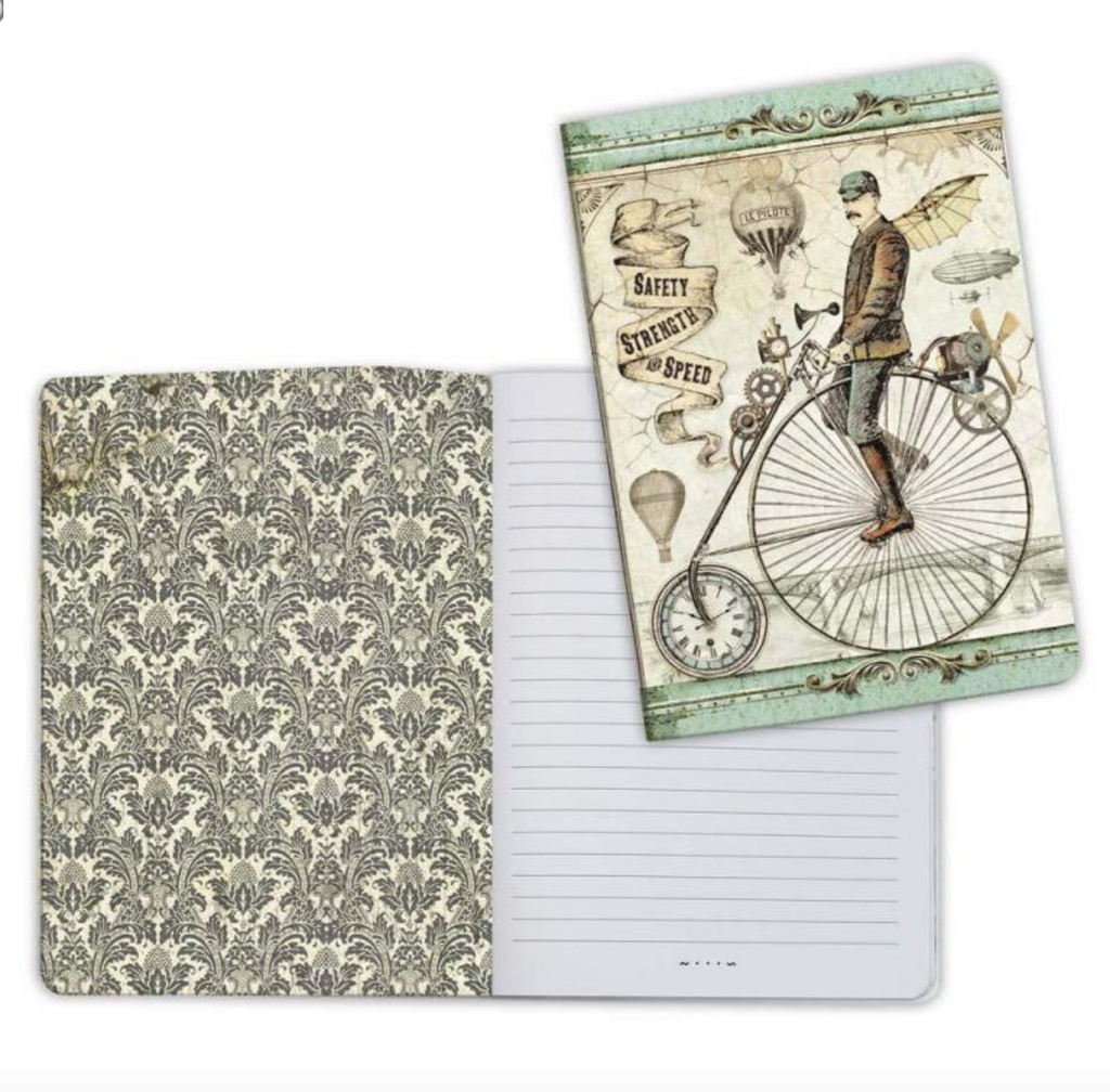 A5 Notebook - Voyages Fantastiques Bicycle