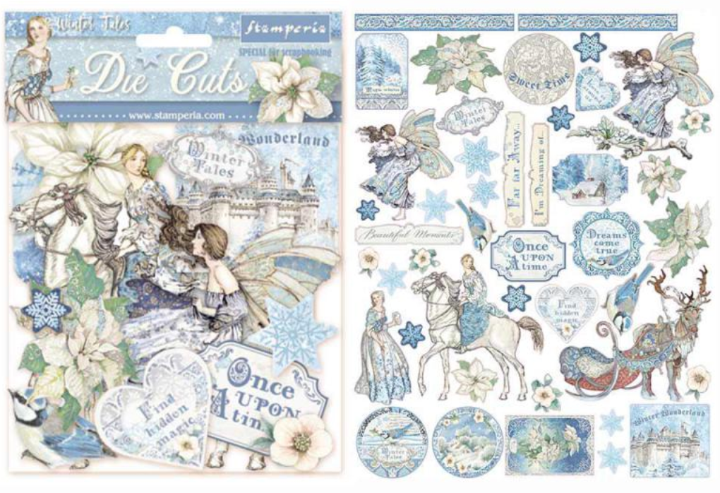 Winter Tales Assorted Die Cuts Stamperia