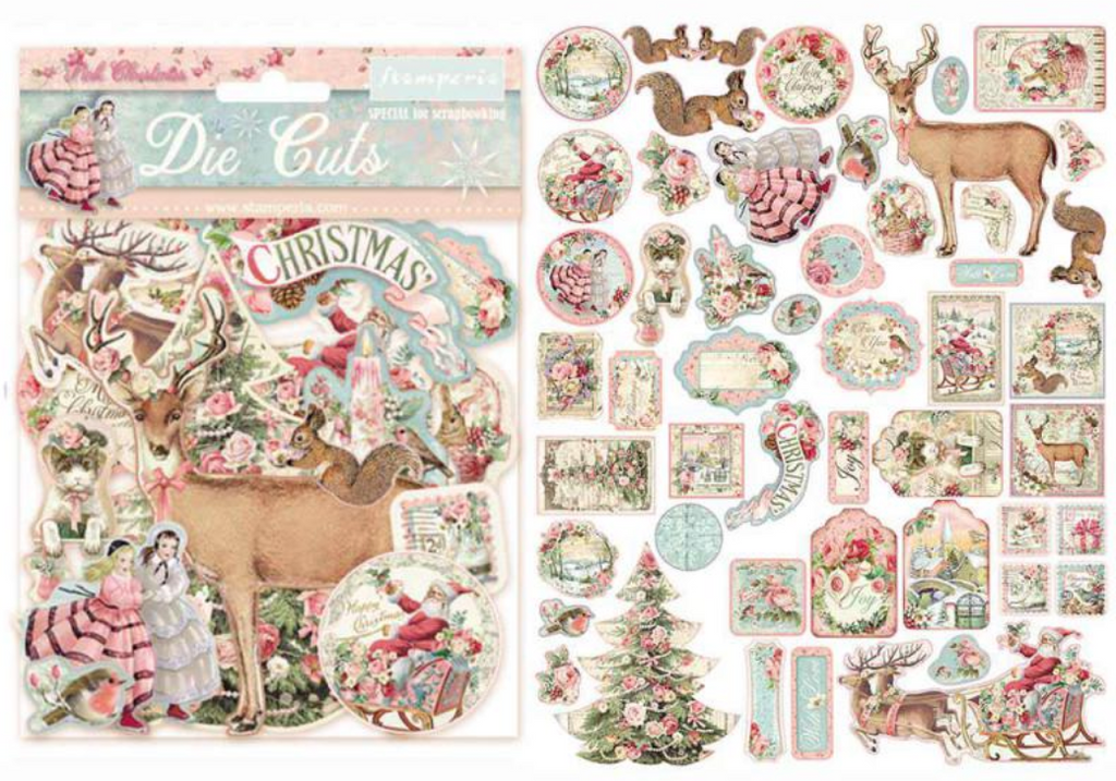 Pink Christmas Collection Bundle by Stamperia