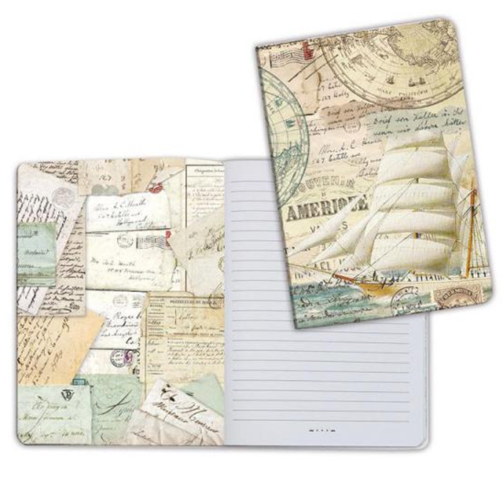 A5 Notebook Ship Stamperia