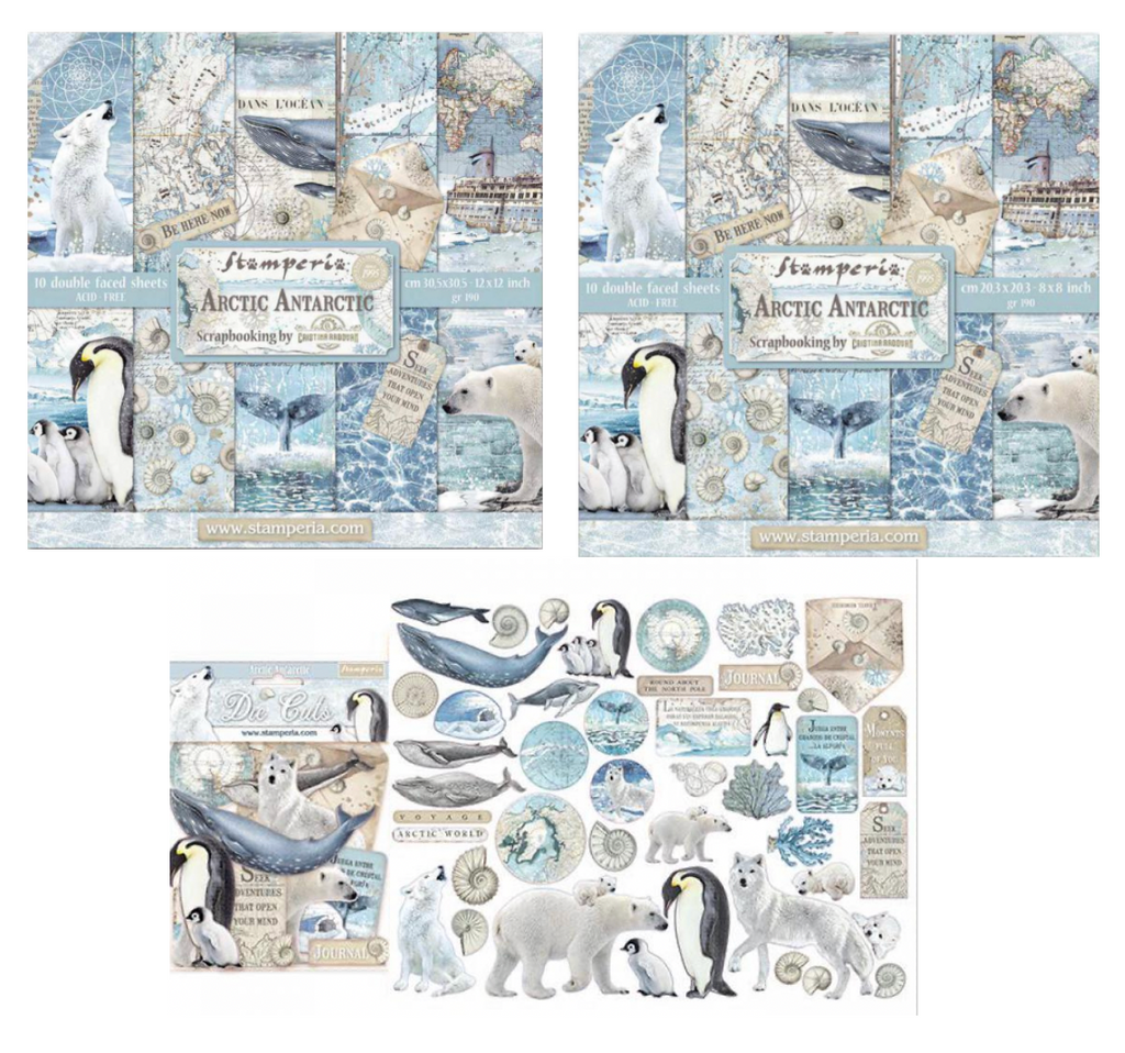 Arctic Antarctic Collection Bundle Stamperia