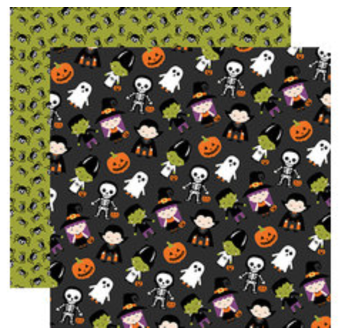 I Love Halloween 12 x 12 Collection Kit Carta Bella