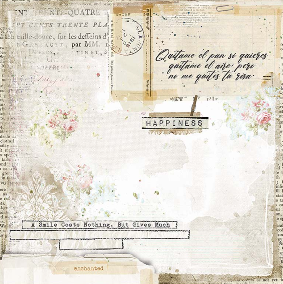 Romantic Collection - Journal 12 x 12 Paper Pad Stamperia