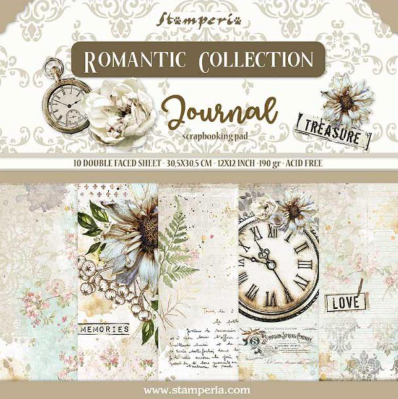 Romantic Collection - Journal 12 x 12 Stamperia