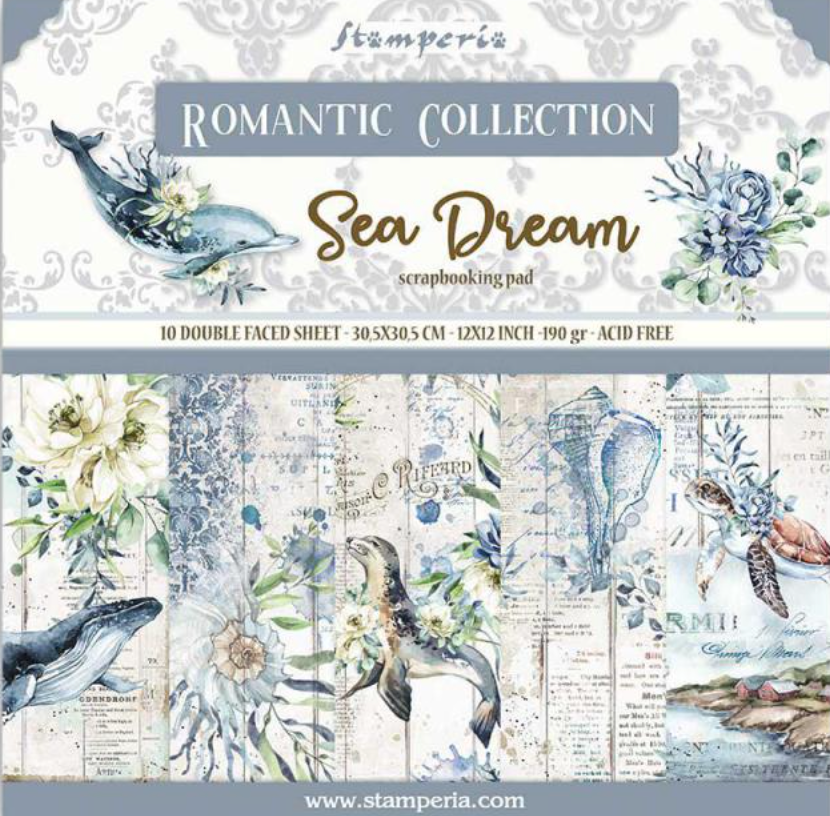 Romantic Collection - Sea Dream 12 x 12 Stamperia