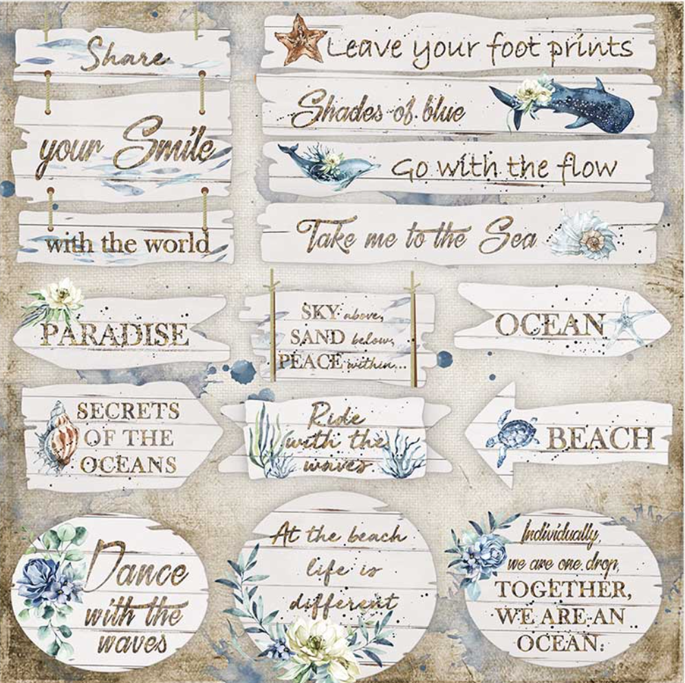 Romantic Collection - Sea Dream Collection Bundle Stamperia