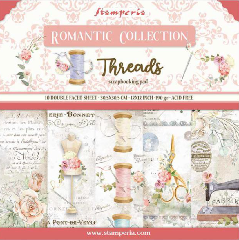Romantic Collection - Threads 12 x 12 Stamperia
