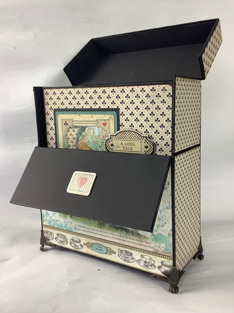 Facebook Live Class No. 16 - The Pickwick Drop Front Case and Mini Album