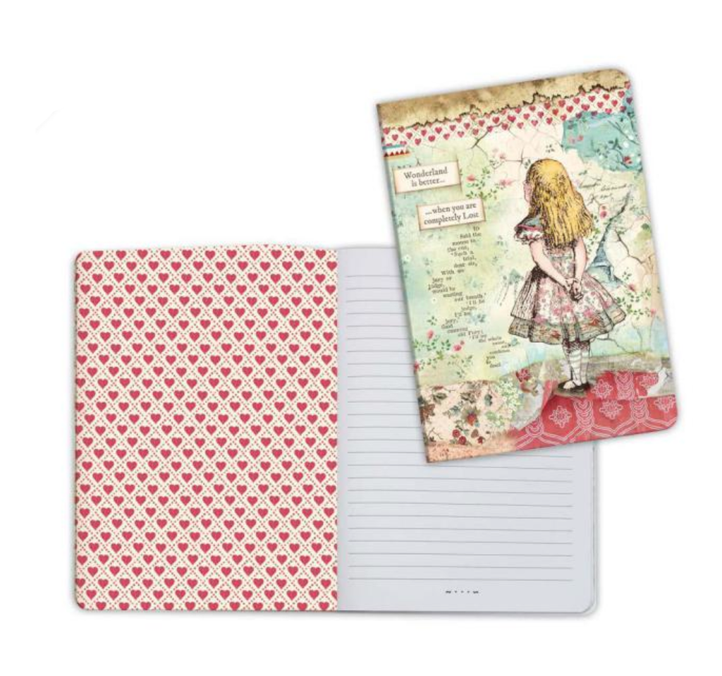 A5 Notebook - Alice