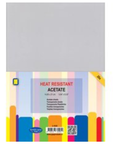 JEJE A4 Heat Resistant Acetate 10 pack