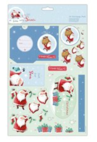 At Home with Santa Decoupage Pack for you - Papermania