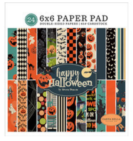 Carta Bella Happy Halloween 6 x 6 paper pad