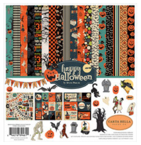 Carta Bella Happy Halloween 12 x 12 Collection Kit