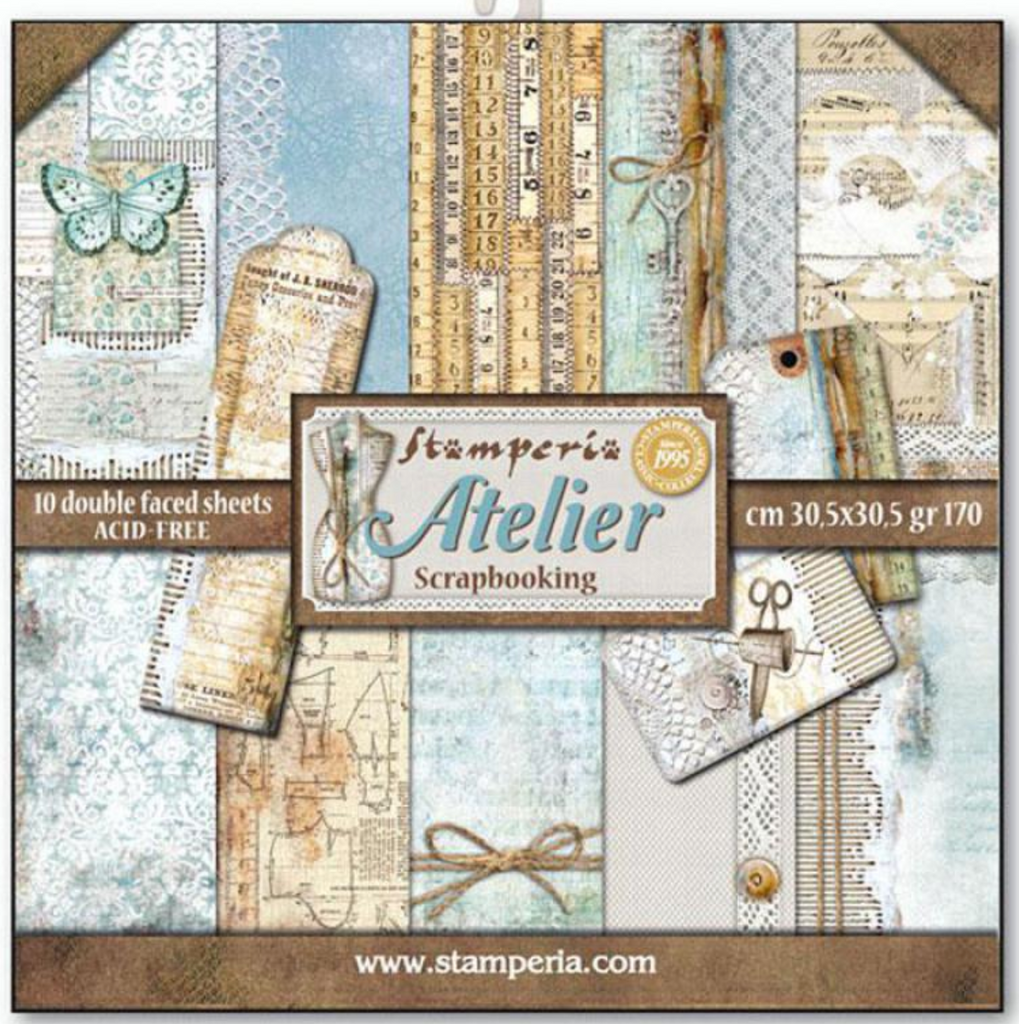 Atelier 12 x 12 by Stamperia