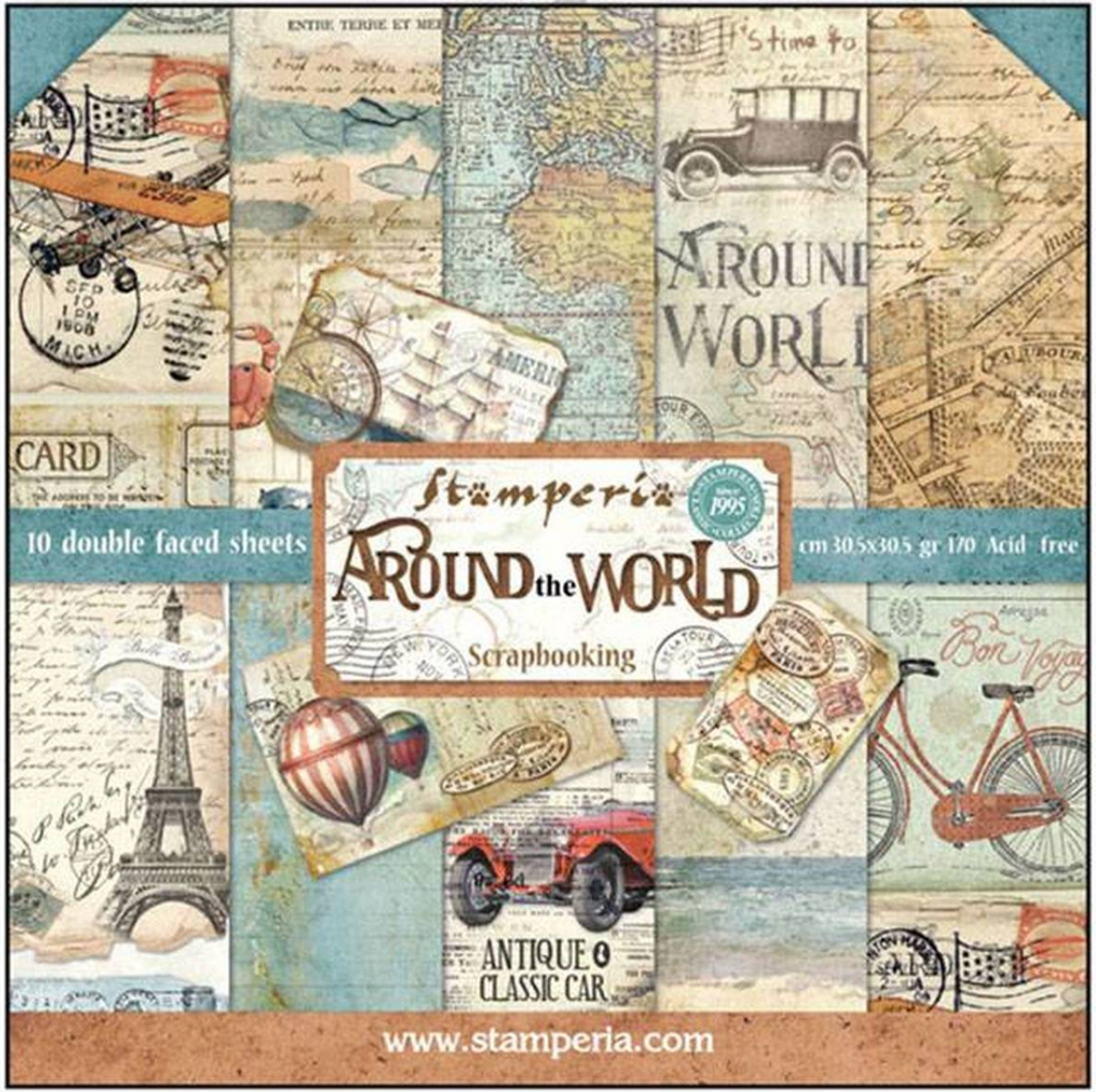 Around the World by Stamperia