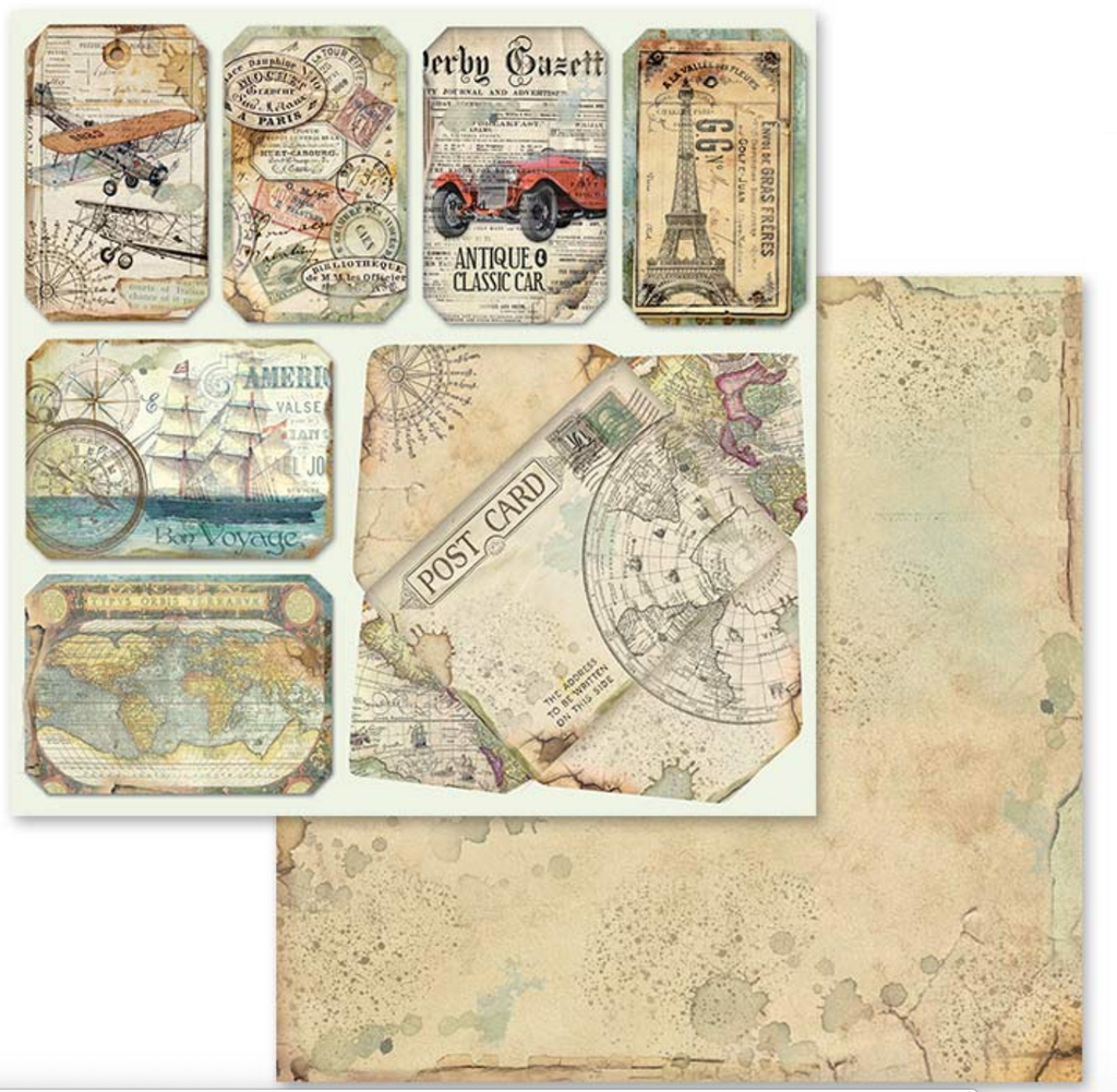 Stamperia Around the World Paper Pad Bundle