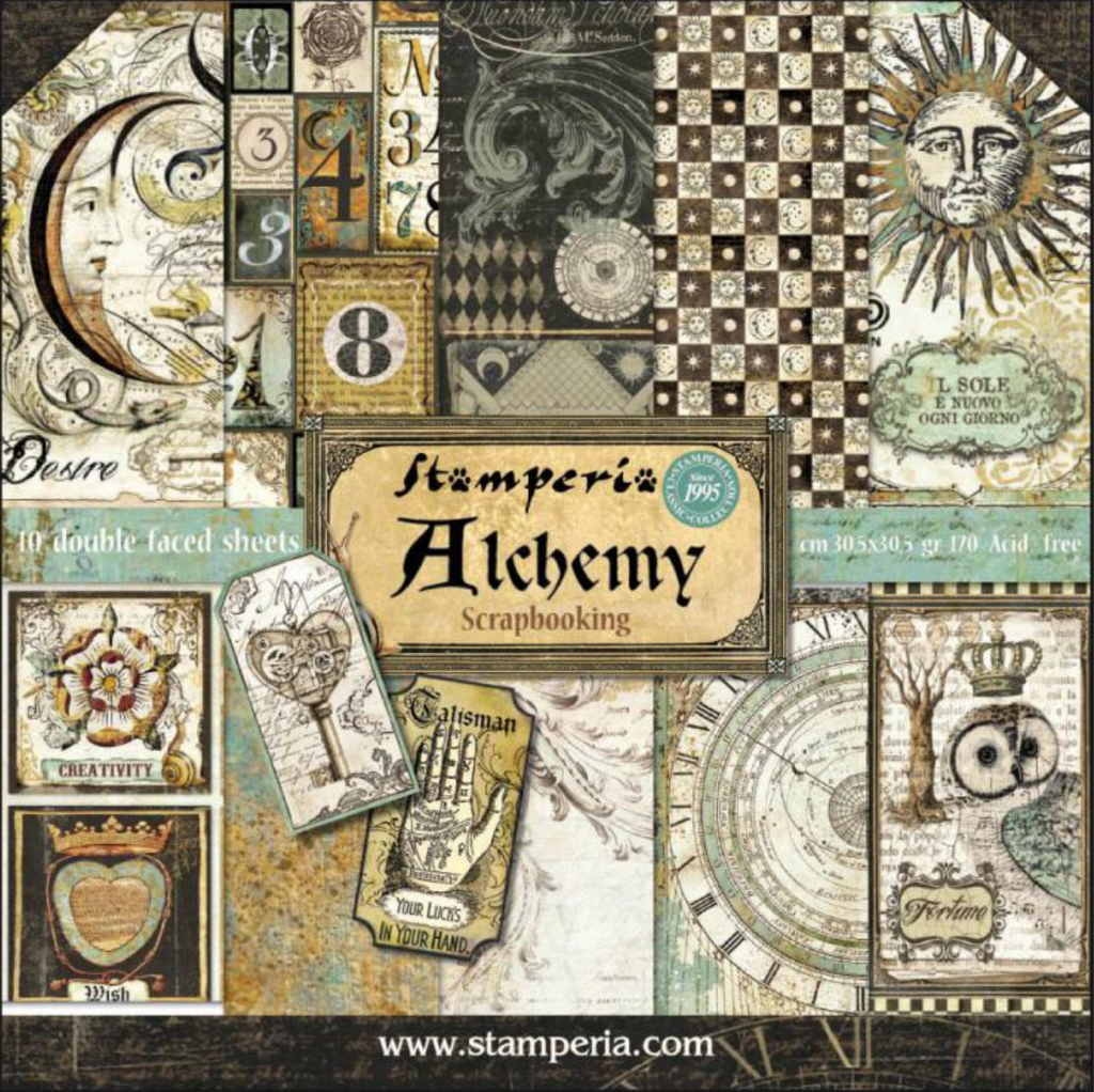 Alchemy by Stamperia