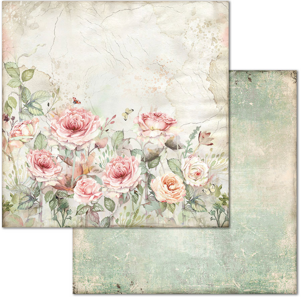 House of Roses 12 x 12 by Stamperia