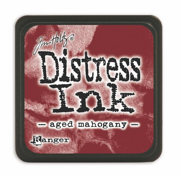 Tim Holtz Mini Distress Ink Pad - Aged Mahogany