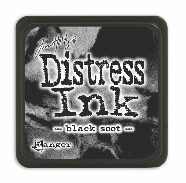 Tim Holtz Mini Distress Ink Pad - Black Soot