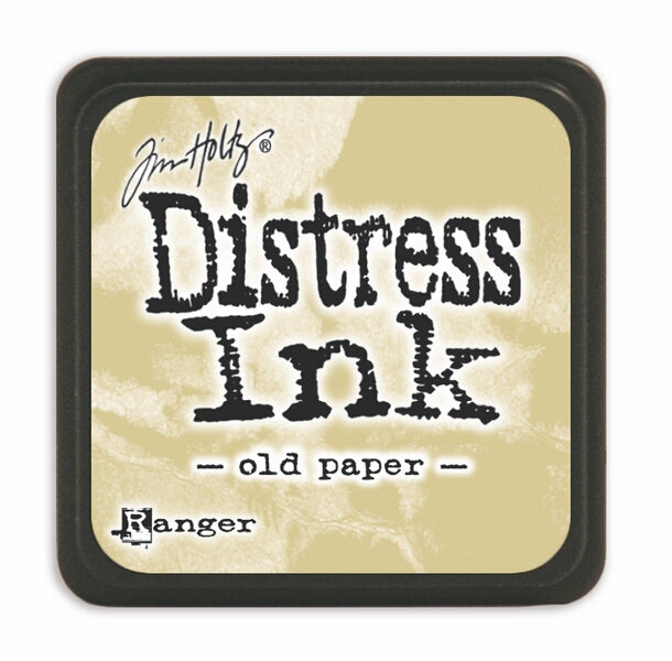 Tim Holtz Mini Distress Ink Pad - Old Paper