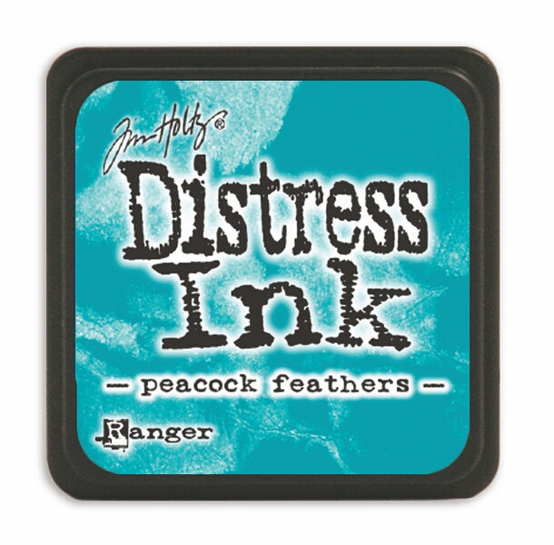 Tim Holtz Mini Distress Ink Pad - Peacock Feathers