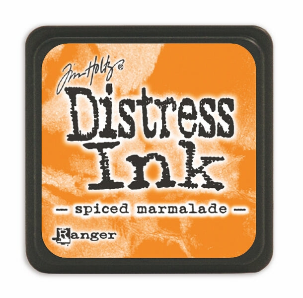 Tim Holtz Mini Distress Ink Pad - Spiced Marmalade
