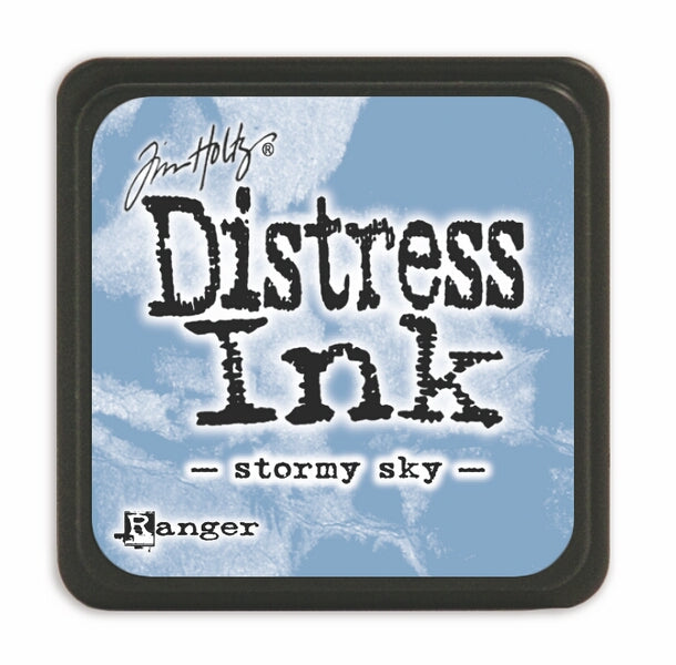 Tim Holtz Mini Distress Ink Pad - Stormy Sky