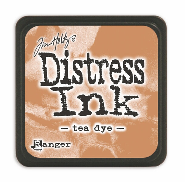 Tim Holtz Mini Distress Ink Pad - Tea Dye