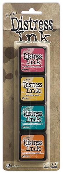 Tim Holtz Distress Mini Ink Pad Kit - Set 01