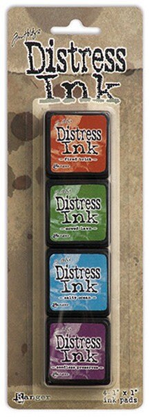 Tim Holtz Distress Mini Ink Pad Kit - Set 02