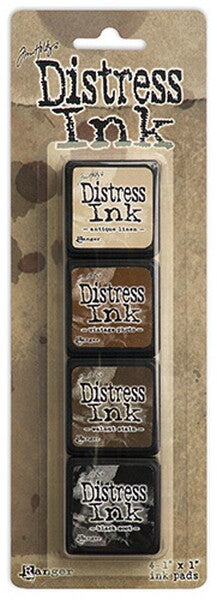 Tim Holtz Distress Mini Ink Pad Kit - Set 03