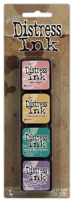 Tim Holtz Distress Mini Ink Pad Kit - Set 04