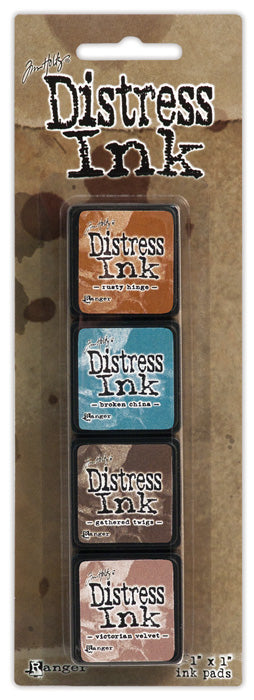 Tim Holtz Distress Mini Ink Pad Kit - Set 06