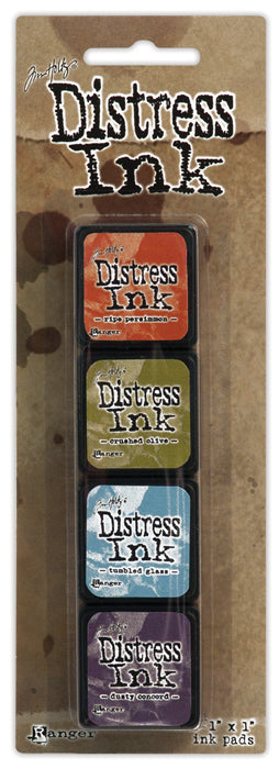Tim Holtz Distress Mini Ink Pad Kit - Set 08