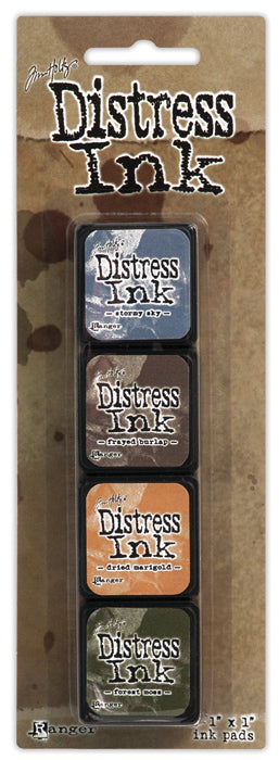 Tim Holtz Distress Mini Ink Pad Kit - Set 09